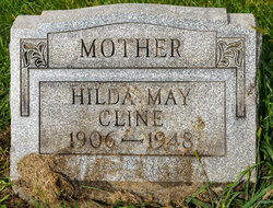 Hilda May <I>Hartup</I> Cline