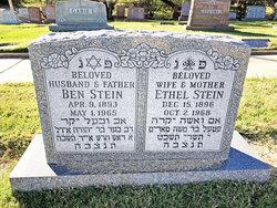 Ethel <I>Haith</I> Stein