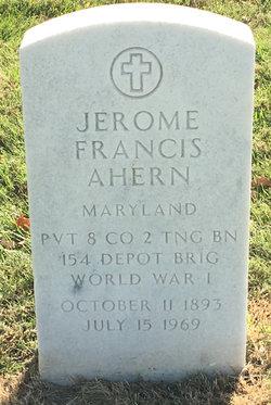Jerome Francis Ahern