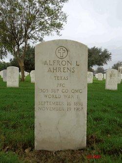 Alfron L Ahrens