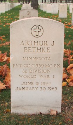 Arthur J Bethke