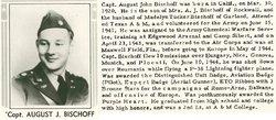 CPT August John Bischoff, Jr