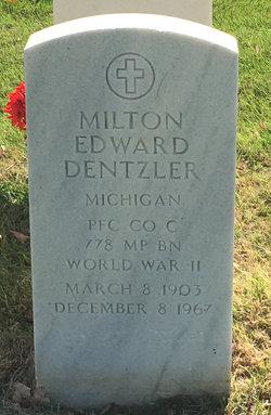 Milton Edward Dentzler
