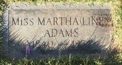 "Martha Amanda ""Liney"" Adams"