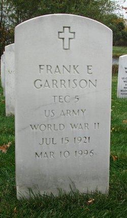Frank E Garrison