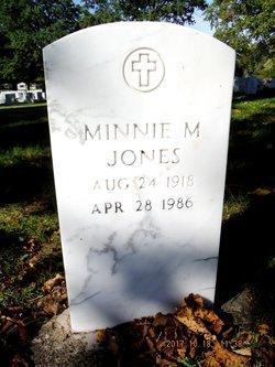 Minnie Maxine <I>Smith</I> Jones