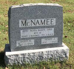 Barry B McNamee