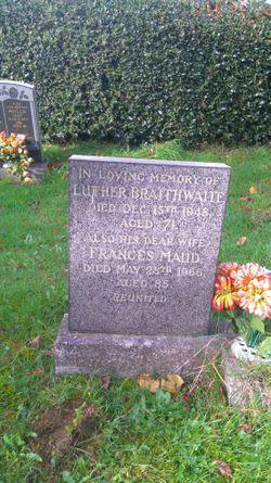 Frances Maud Braithwaite