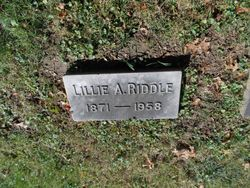 Lillie A. Riddle