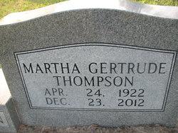 Martha Gertrude <I>Thompson</I> Hennington