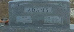 """Juanita """"Neta"""" <I>Burkes</I> Adams"""