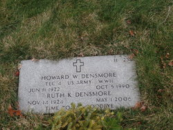 Howard W Densmore