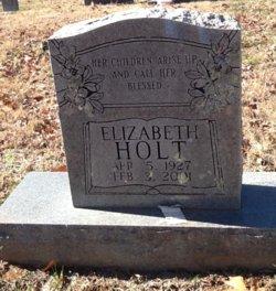 """Elizabeth """"Kat"""" <I>Raines</I> Holt"""