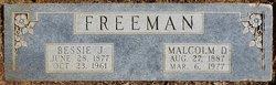 Bessie Jewel <I>Campbell</I> Freeman