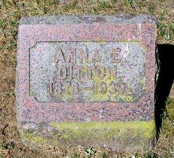 Anna E <I>Davidson</I> Ditton