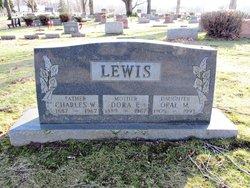 Dora Ellen <I>Hall</I> Lewis