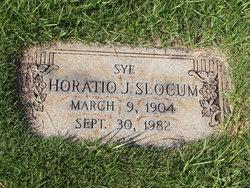 "Horatio J. ""Sye"" Slocum"