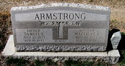 Mattie Ola Armstrong