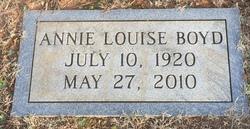 Annie Louise <I>Whitener</I> Boyd