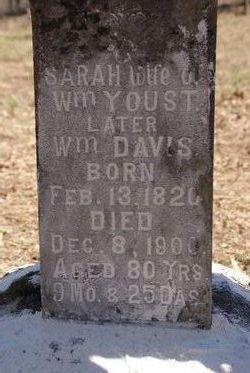 Sarah Sally <I>Sandy</I> Youst