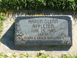 Aaron Glenn Appleton