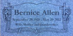 Bernice Allen