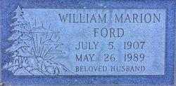William Marion Ford