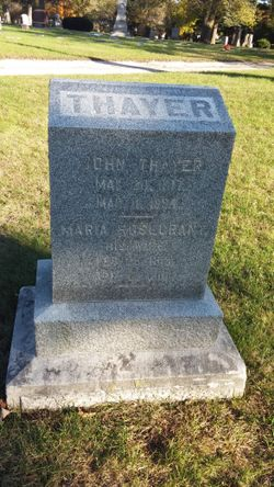Maria <I>Rosecrant</I> Thayer