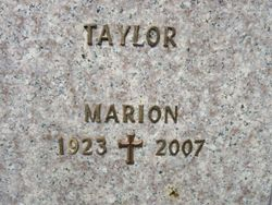 Marion Taylor