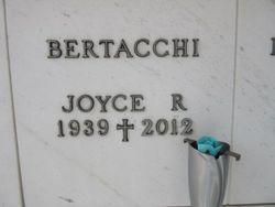 Joyce R Bertacchi