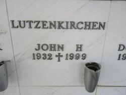 John H Lutzenkirchen
