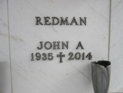 John A Redman