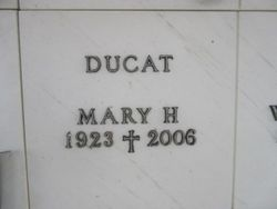 Mary H Ducat
