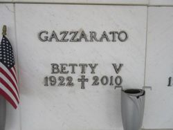 Betty V Gazzarato