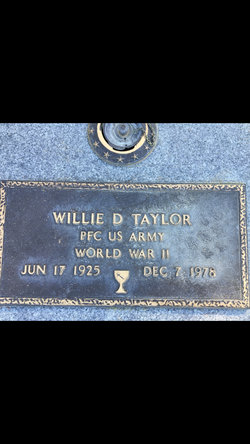 Willie Daniel Taylor