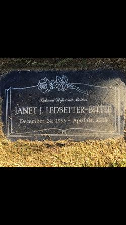 Janet J <I>Ledbetter</I> Bittle