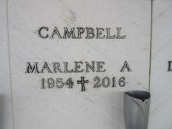 Marlene A Campbell