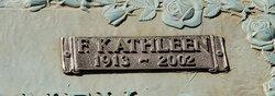 Frances Kathleen <I>Higgins</I> Mahoney