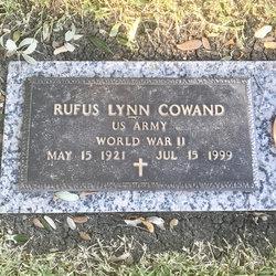 """Rufus Lynn """"Lynn"""" Cowand"""