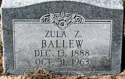Zula Z Ballew