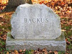 Verna P. <I>Petrie</I> Backus