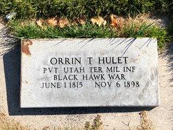 Orrin T Hulet