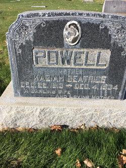 Kaziah Beatrice <I>Stevens</I> Powell