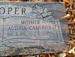 Audria Cameron Cooper