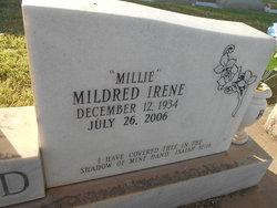 """Mildred Irene """"Millie"""" <I>Johnston</I> Buford"""