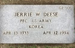 Jerrie W Deese