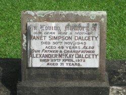 Alexander McKay Dalgety
