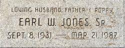 Earl W Jones, Sr