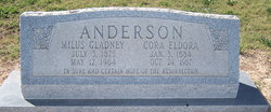 Cora Eldora <I>Johnson</I> Anderson