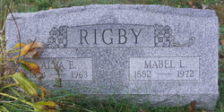 Mabel Luella <I>Martin</I> Rigby